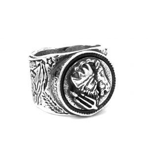 Anillo plata Neptuno Indios atlético de madrid HIMNUM
