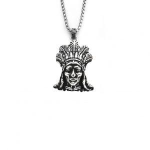 Colgante plata forma indio Indios atlético de madrid HIMNUM