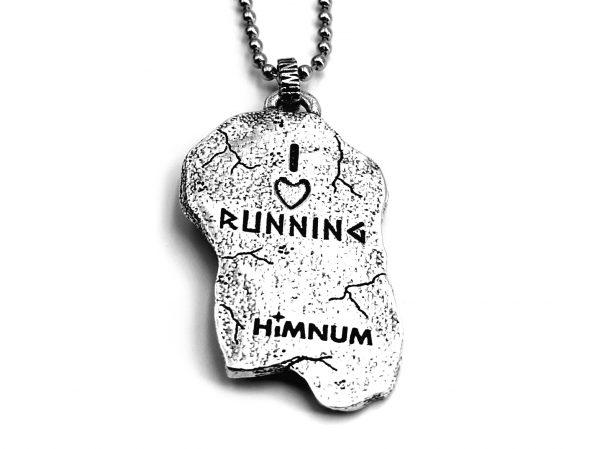 Colgante  plata Running  HIMNUM