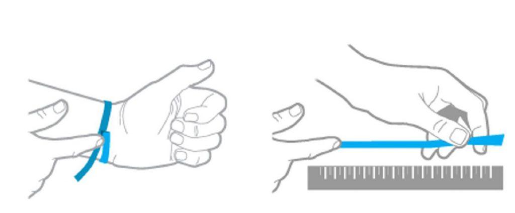 talla pulseras